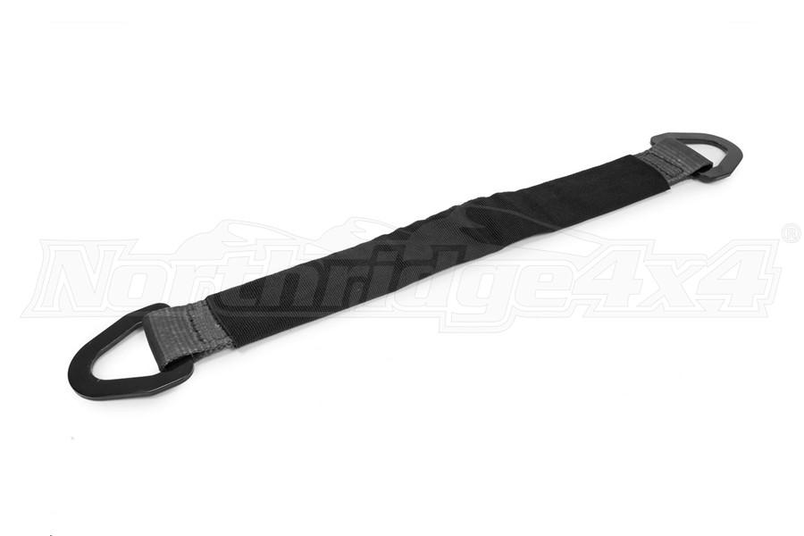 SpeedStrap 2in x 24in Axle Strap w/ D-Rings, Black