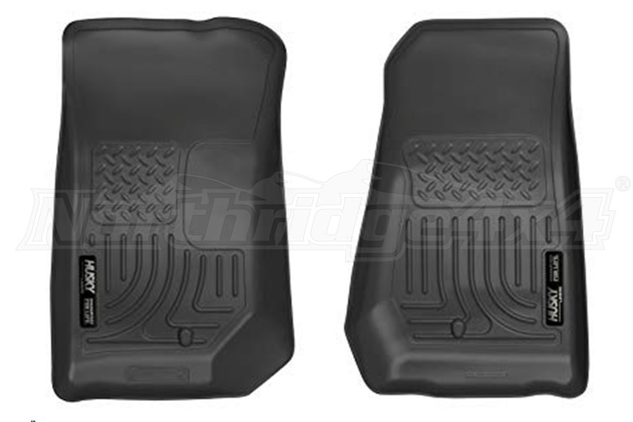Husky Liners Front Floor Liners Black Front Row (Part Number:18021)