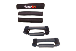 Rugged Ridge Grab Handle Kit Black  ( Part Number: 13505.15)