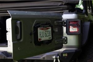 Kentrol Backside License Plate Mount - Black - JL