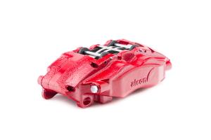 Alcon Heavy Duty Rear Brake Kit 4-Piston Red Calipers 330x22mm rotors - JT/JL/JK