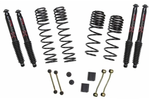 Skyjacker Suspension 2-2.5 In Lift Dual Rate-Long Travel Lift Kit System W/ Black Max Shocks  - JL