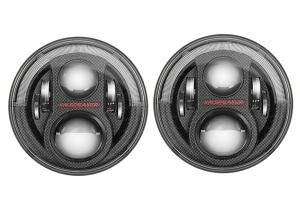 JW Speaker 8700 Evolution J2 LED, Carbon Fiber Headlight Kit ( Part Number: 0553973)