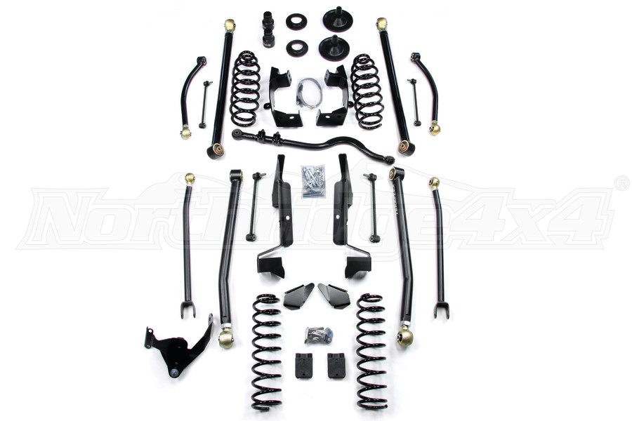 TeraFlex Elite 3in LCG Long Arm Suspension System Lift Kit  (Part Number:1457300)