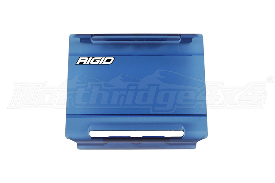 Rigid Industries E-Series 4IN Light Cover, Blue (Part Number:104943)