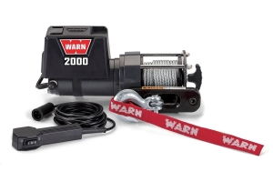 Warn 2000DC 12V Electric Winch (Part Number: )