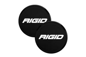 Rigid Industries 360-Series 6in LED Light Cover, Black - Pair