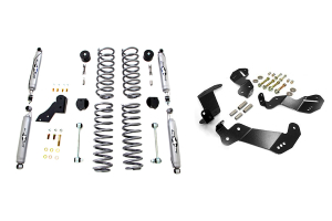 Rubicon Express Shocks and Control Arm Bracket Package (Part Number: )