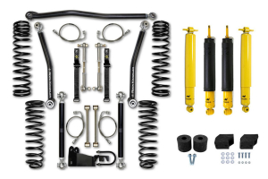 Rock Krawler 3.5 Max Travel Lift Kit, W/ Shock Options - JK 4DR (Part Number: )