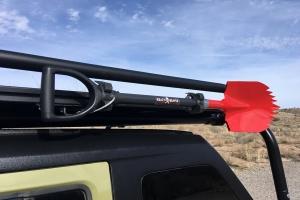 Krazy Beaver Shovel - Red Head, Black Handle