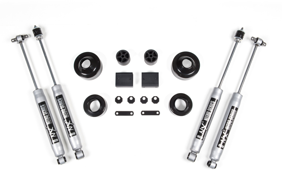 BDS Suspension 2in Coil Spacer Lift Kit (Part Number:463H)