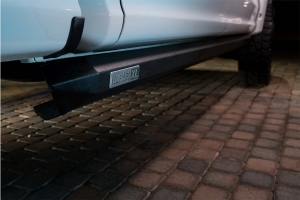 Amp Research PowerStep XL Electric Running Boards - Black - JL 2Dr