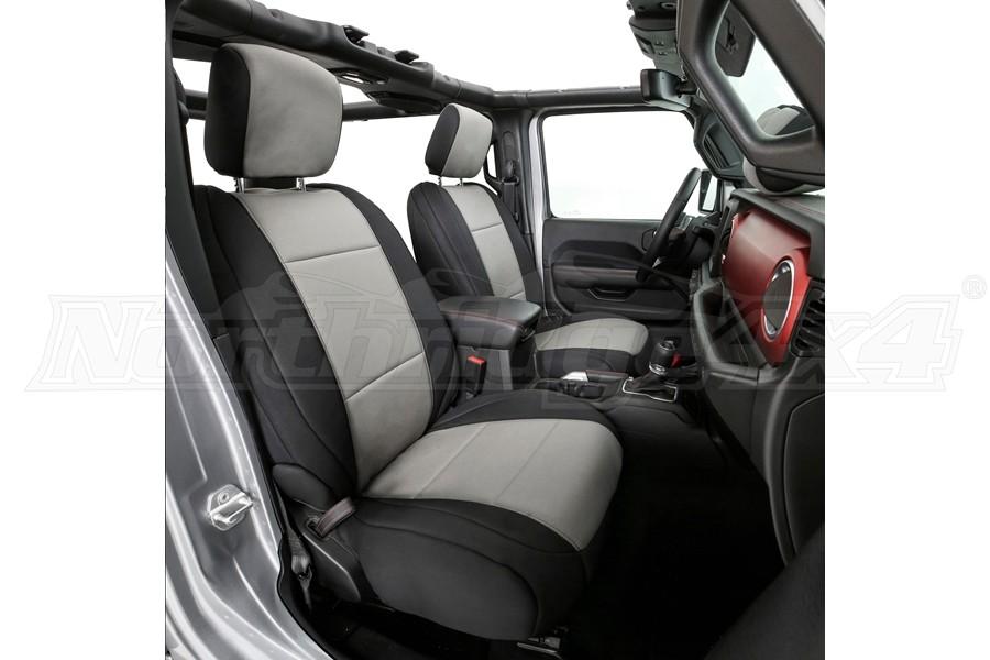Brilliant Smittybilt Neoprene Seat Cover Set Front Rear Charcoal Short Links Chair Design For Home Short Linksinfo