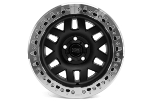 KMC Wheels XD229 Machete Beadlock Satin Black Wheel 17x9 5X5 ( Part Number: XD22979050738N)