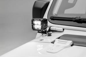 T-REX ZROADZ A Pillar Lower Pod Style LED Light Bar Brackets  (Part Number: )