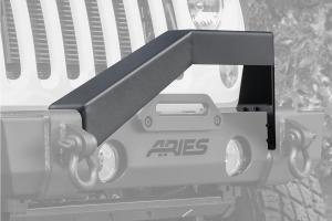 Aries TrailCrusher Front Bumper Angular Brush Guard - JK/TJ