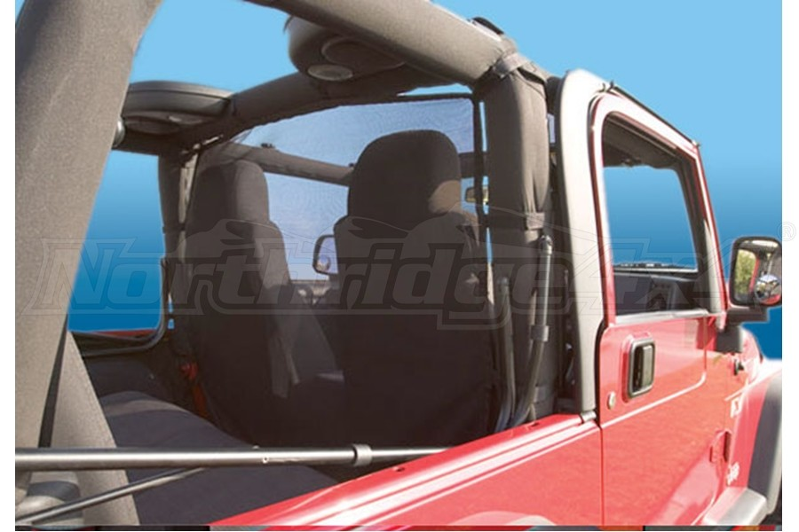 Vertically Driven Products Windstopper Black Mesh - TJ
