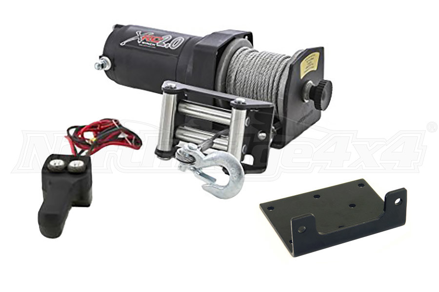 Smittybilt XRC-2 - 2 000lbs Winch Universal (Part Number:97202)