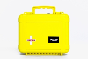 Outer Limit Supply Waterproof 6000 Series First Aid Kit - Yellow