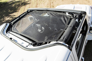 Rugged Ridge Hardtop Sun Shade, Black (Part Number: )