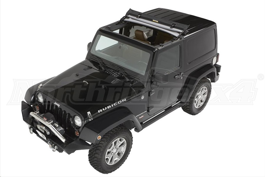 Bestop Sunrider Soft Top For Hard Tops - Black Twill - JK