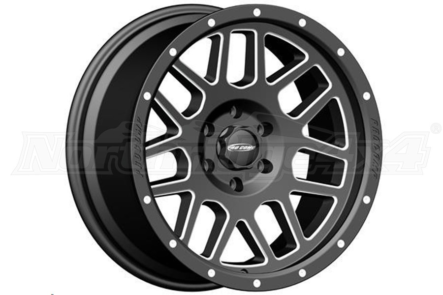 Pro Comp 40 Series Vertigo Wheel Satin Black 20x9 5x5 (Part Number:5140-297352)