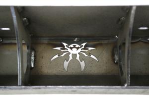 Poison Spyder Brawler Lite Front Bumper w/Brawler Bar and Shackle Tabs Bare (Part Number: )