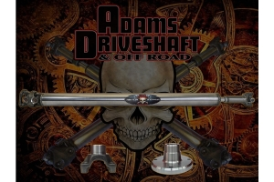 Adams Driveshaft Extreme Duty Series 1-Piece 1350 Solid Rear CV Driveshaft  - JT Rubicon Only
