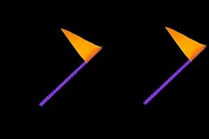 Quake LED 2ft RGB Accent LED Whip Light - Pair