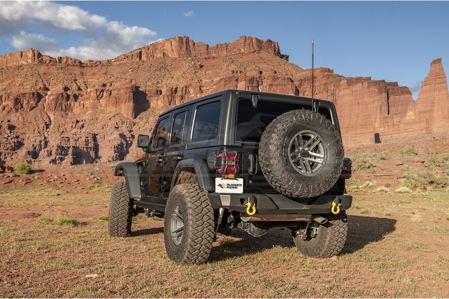 Rugged Ridge Rear HD Bumper  - JL