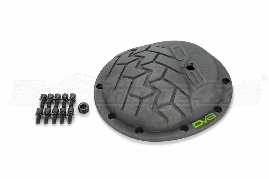 DV8 Offroad HD Cast Iron Gray Differential Cover - Dana 30