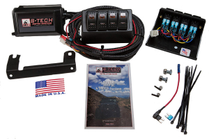 S-TECH Dual LED 4-Switch System Custom Molded Housing, Amber LED ( Part Number: TTO-STECH-2AM)