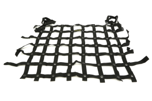 Dirty Dog 4x4 Spider Netting Rear Black  (Part Number: )