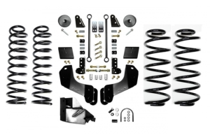 EVO Manufacturing 3.5in Enforcer Overland Lift Kit w/Shock Extensions Stage 1 - JL