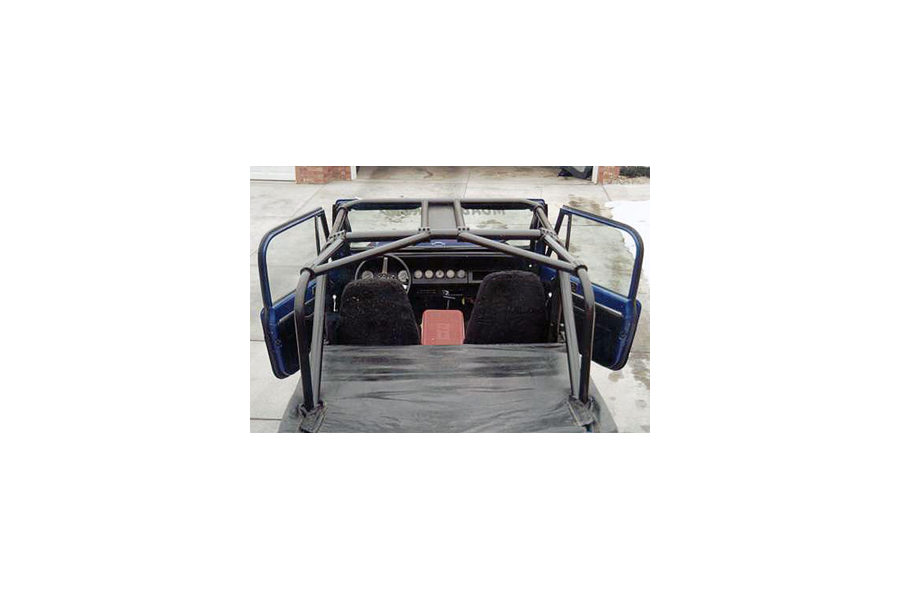 Rock Hard 4x4 Ultimate Sports Cage Rear Angle Bars ( Part Number: RH-1002-A)