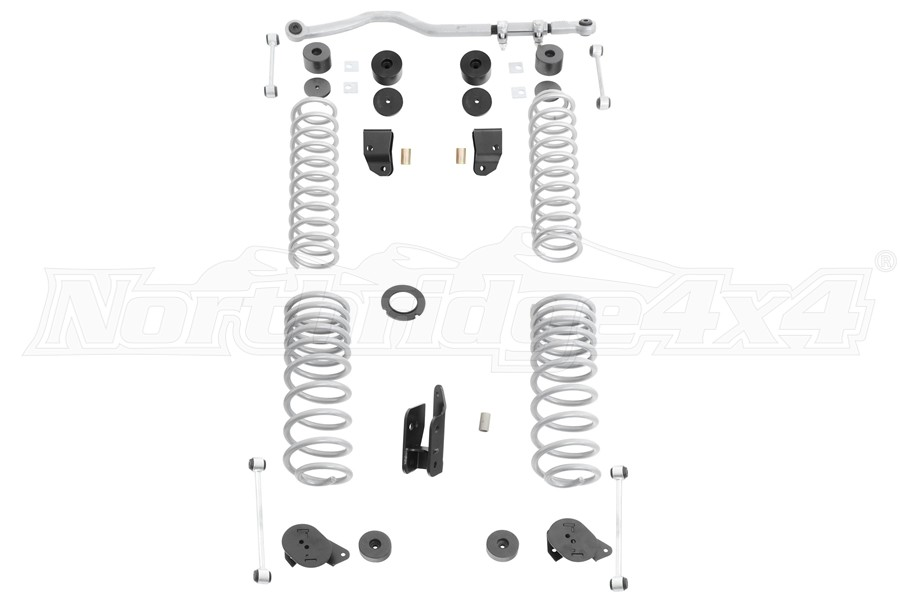 Rubicon Express 2.5-3.5in Standard Suspension Lift Kit w/ Shock Extensions - JT