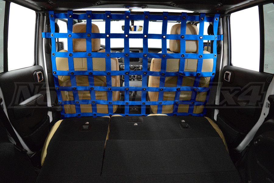 Dirty Dog 4X4 Cargo/Pet Divider Blue - JL 4dr