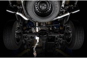 AWE Tread Edition Cat-Back Dual Exhaust - Diamond Black Tips - JT 3.6L