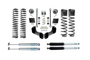 Evo Manufacturing 2.5in Enforcer Overland Stage 1 Lift Kit w/ Bilstein Shocks - JT
