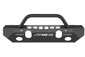 Aries Trail Chaser Front Bumper (Option 4) - JK