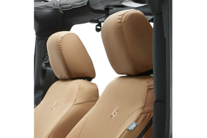 Bestop Front Seat Covers Tan - JK 2007-12