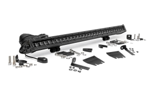 Rough Country 30-inch LED Hood Kit, Black Series (Part Number: )