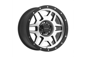 Pro Comp Xtreme Alloys Series 3541 Phaser Machined Face and Black Lip 18x9 5x5 (Part Number: )