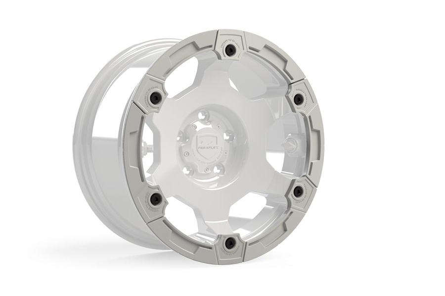 Teraflex Nomad Split Rash Ring Kit w/ Hardware - White