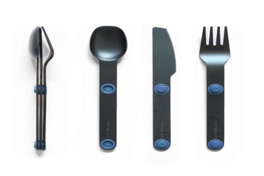 Full Windsor Magware Magnetic Flatware, Single Set - Blue