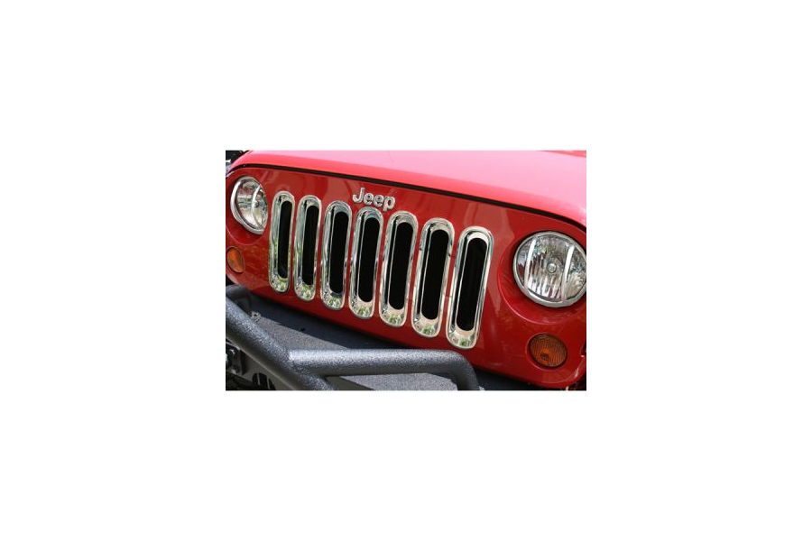 Rugged Ridge Grille Inserts Chrome (Part Number:11306.20)
