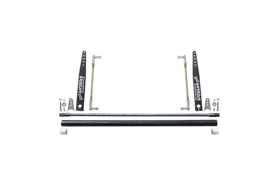 RockJock AnitRock 45in Sway Bar Kit w/ 17in Steel Arms Universal