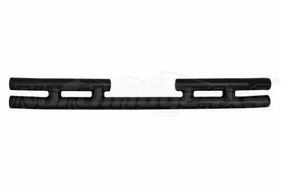 Smittybilt Tubular Rear Bumper Gloss Black (Part Number:JB48-R)