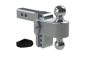 Weigh Safe 180degree Turnover Ball 4in Drop Hitch w/2in Shaft