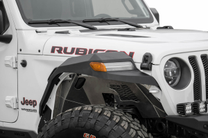 Addictive Desert Designs Rock Fighter Front Fenders, Black - JL